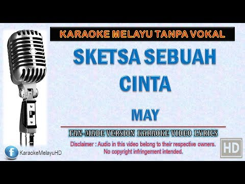 May - Sketsa Sebuah Cinta (Unplugged) | Karaoke Minus One | Lirik Video HD