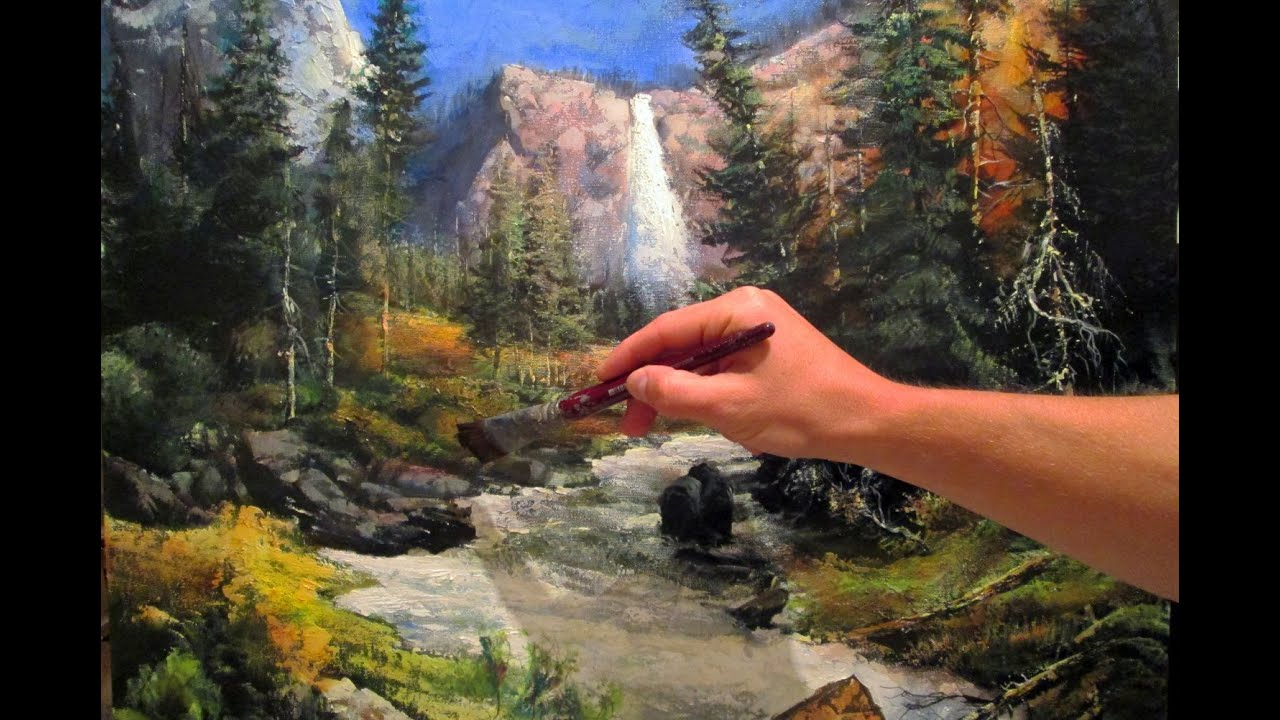 Beautiful Fantasy Landscape Painting In 15 Minutes