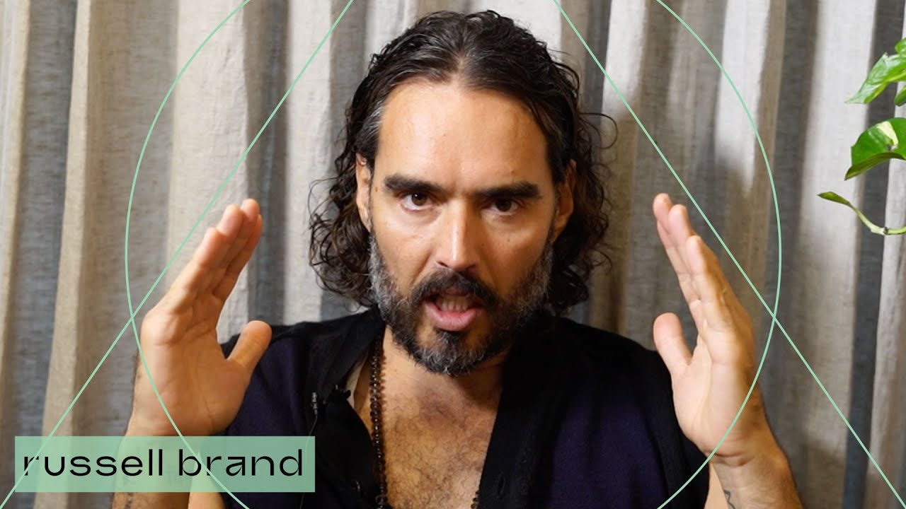 Russel Brand explains why he goes to therapy