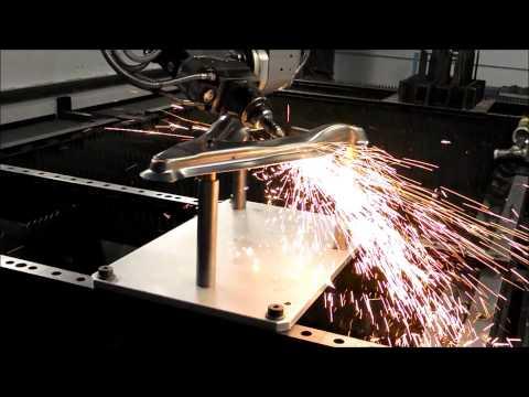 MSM aerospace fabricators 5 axis laser - wishbone