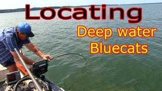 Monster Rod Holders Presents: Catching Bluecats On Deep Water Structure