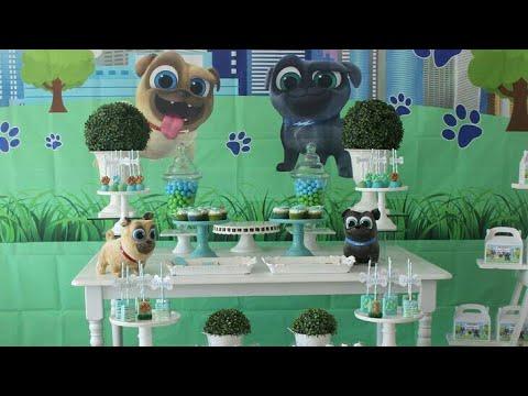 Fiesta De Puppy Dog Pals Bingo Y Rolly Party Childrens 2018