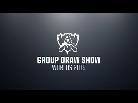 2015 World Championship Group Draw Show