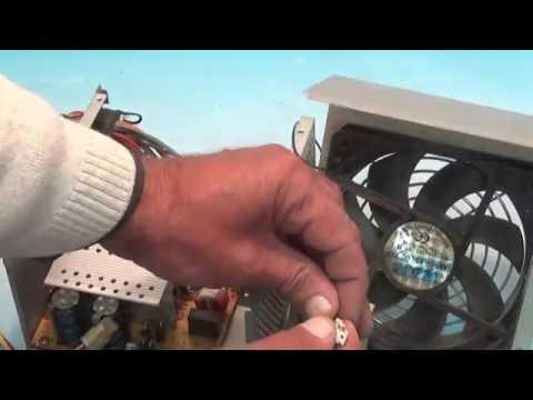 Ремонт блока питания компьютера и его устройство - YouTube