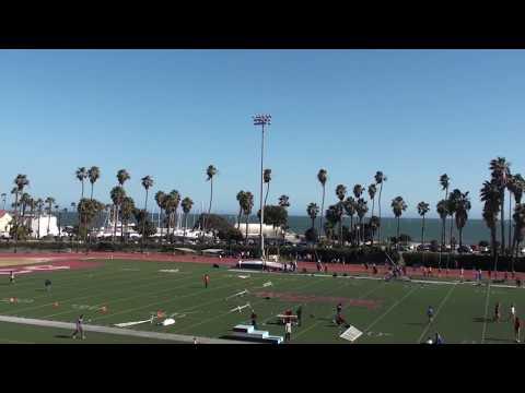 2018 Santa Barbara Easter Relays Boys Distance Medley Frosh-Soph