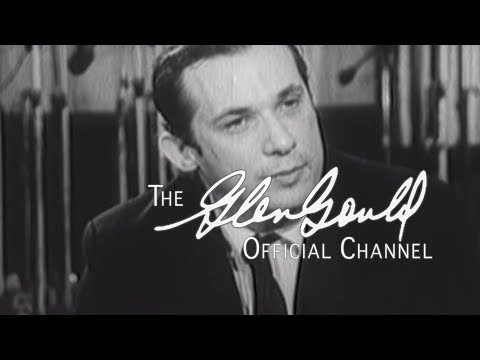 "Glenn Gould - Interview with Alex Trebek: ""I detest audiences"" (OFFICIAL)"