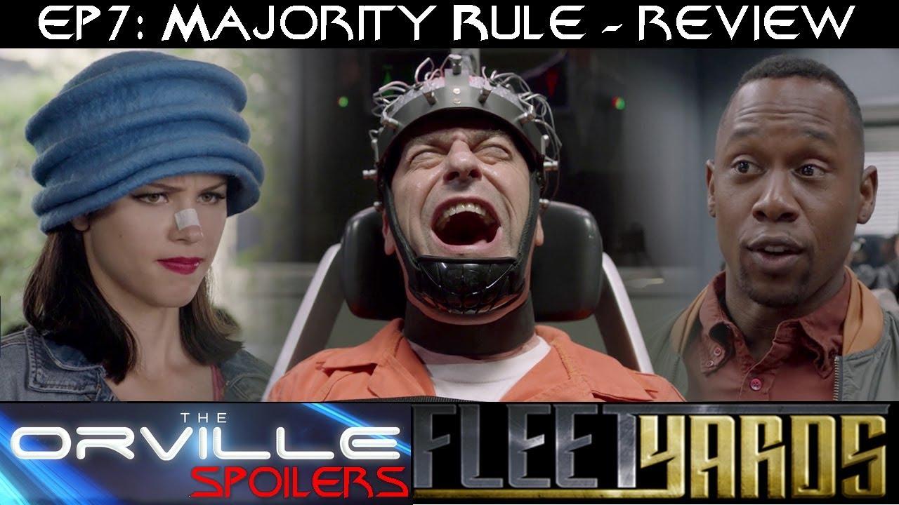 """Download Orville S01E07 """"Majority Rule"""" Spoiler Review/Analysis - Fleetyards"""