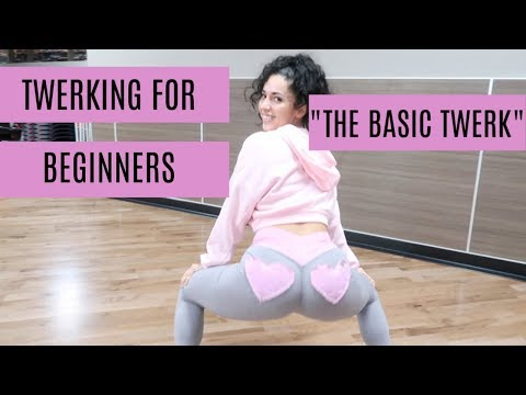 "LEARN HOW TO TWERK | TWERKING FOR BEGINNERS | ""THE BASIC TWERK"" thumbnail"