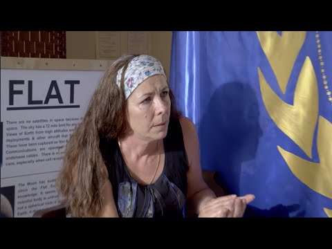 Adam Rivers - This woman goes on TV trying to convince you that the earth is flat
