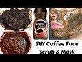 Homemade Coffee Scrub & Mask | Removes Suntan, Dark Spots & Aging Signs | Get Fair & Glowing Skin