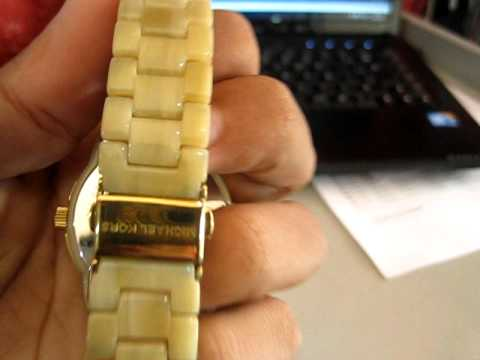 9364a2bbafa Relógio Feminino Michael Kors MK 5255 - YouTube