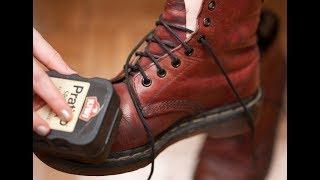 TUTORIAL! Mencuci sepatu Kulit tanpa air di jamin kinclong