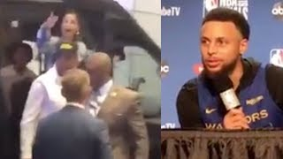 Steph Curry Calls Out Rude Raptors Fans Who ATTACKED His Mom!