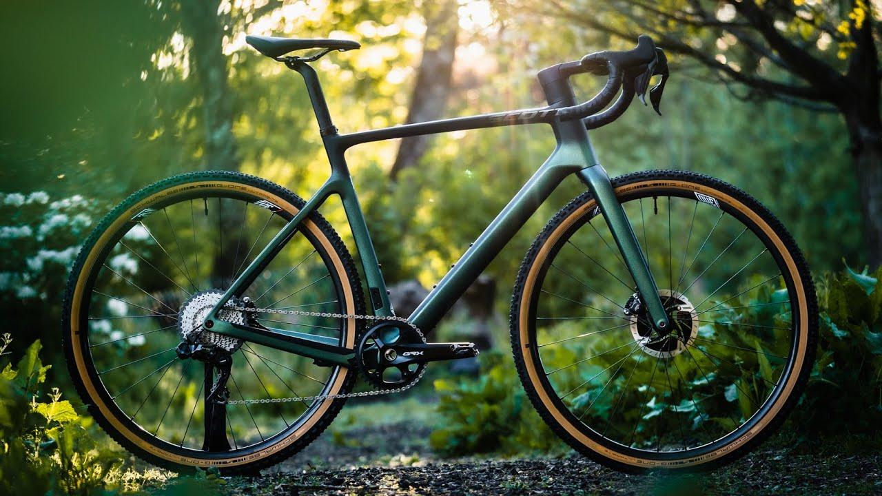 Building the NEW 2022 SCOTT Addict Gravel   Dream Gravel Bike Build