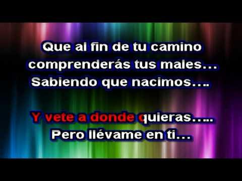 Vicente Fernandez - Para morir Iguales - Karaoke demo  2015