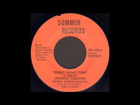 Johnny Osbourne - Right Right Time