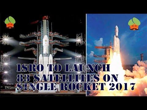 ISRO  will launch 83 satellites on 1 rocket   on January 15, 2017