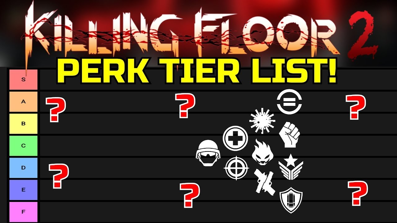 Killing Floor 2 Ranking All Killing Floor 2 Perks Best And Worst Perks In The Game Youtube