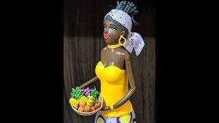 Gambar cover AFRICANA NA GARRAFA COM CESTO DE FRUTAS