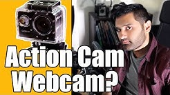 Can you use an action cam as a webcam