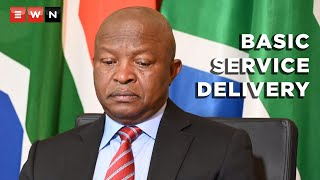 Deputy President David Mabuza answered questions at the virtual plenary sitting of the National Council of Provinces on 15 June 2021. Here he addressed the basic service delivery protest in Maluti-a-Phofung municipality in Harrismith.