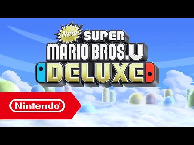 New Super Mario Bros. U Deluxe - bande-annonce (Nintendo Switch)