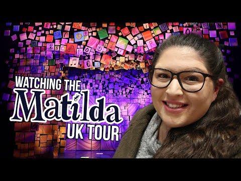 MATILDA the Musical UK Tour - Leicester Curve 💙 REVIEW (Rukaya Cesar)