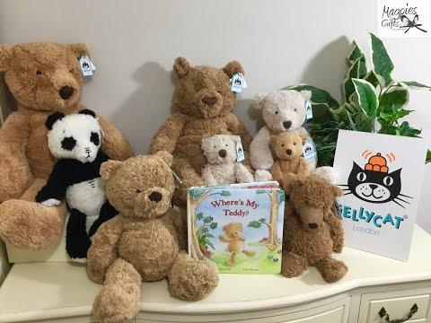 JellyCat Teddy Bears