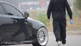 Slammed Lexus IS 250