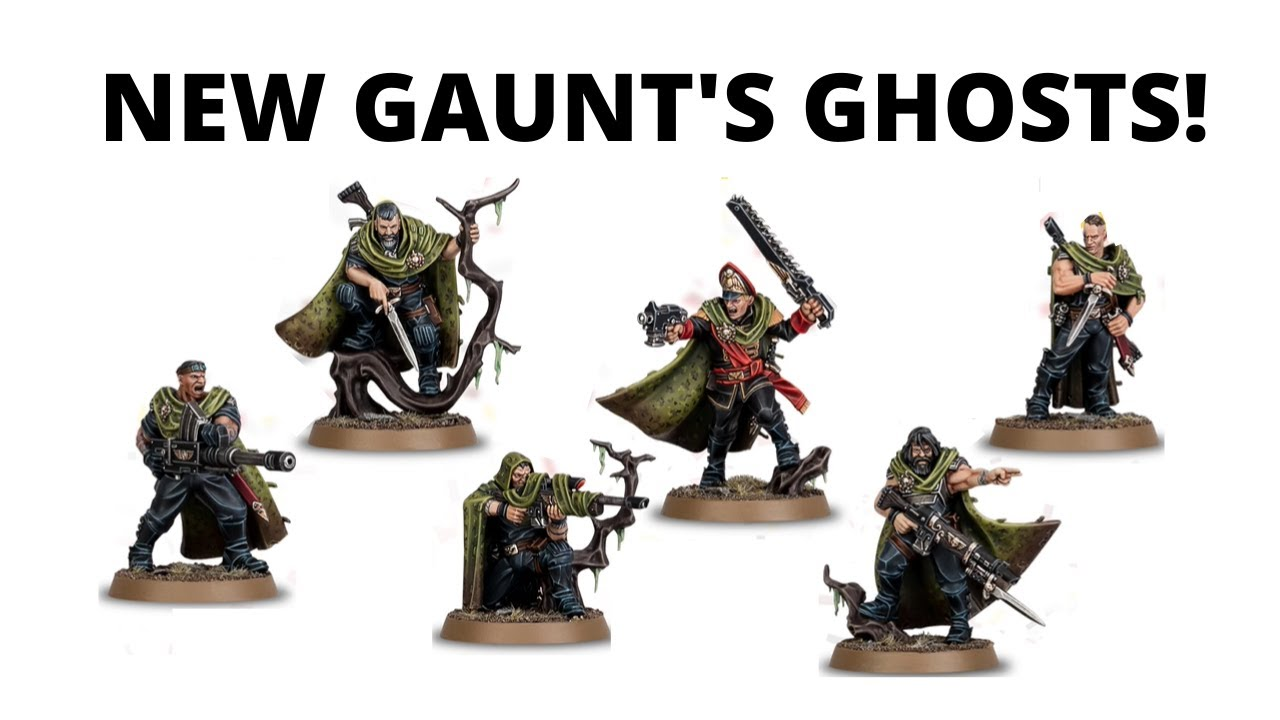 Gaunt's Ghosts get NEW MINIS - Warhammer Fest Black Library Reveals!