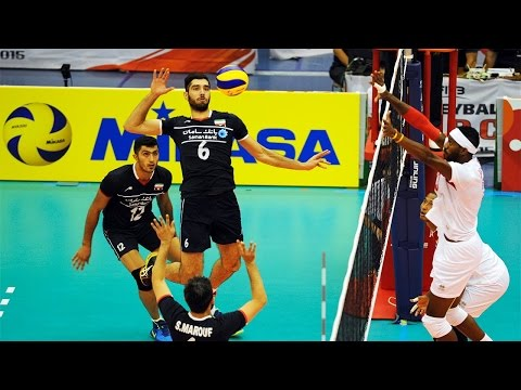 The best volleyball player - Seyed Mousavi