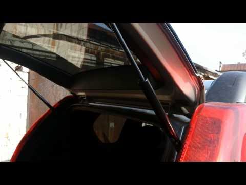 Альтернативная замена газовым опорам крышки багажника Nissan X Trail