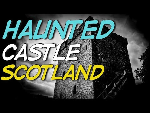 Haunted Castle Scotland - Secluded Lonely Island!