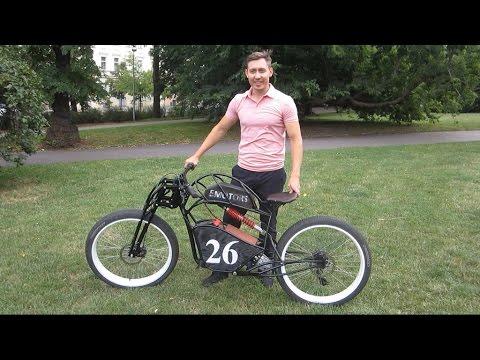 26 Bike Emotors Электромотоцикл / Электровелосипед своими руками Electric bike, handmade