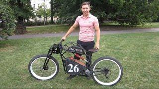 26 Bike Emotors Электромотоцикл / Электровелосипед своими руками Electric bike, handmade(Самодельный электробайк. Электромотоцикл с использованием одного рамного мотора 1000 ватт, максимальная..., 2016-07-30T18:47:27.000Z)