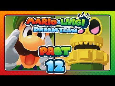 Mario & Luigi: Dream Team - Part 12: GIGA LUIGI!