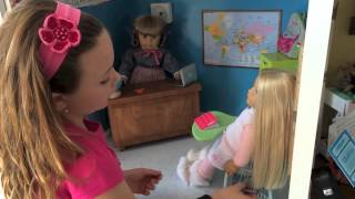 American Girl Doll House Tour 2014 10 Ft Long X 9 Ft High 9 Rooms!