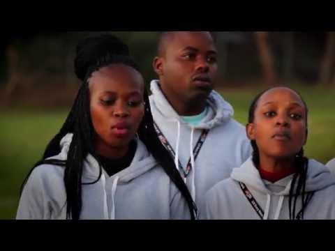LEV Particpants from Botswana sing Modimo tshela moya