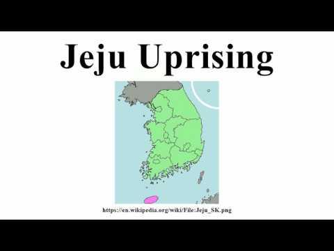 Jeju Uprising