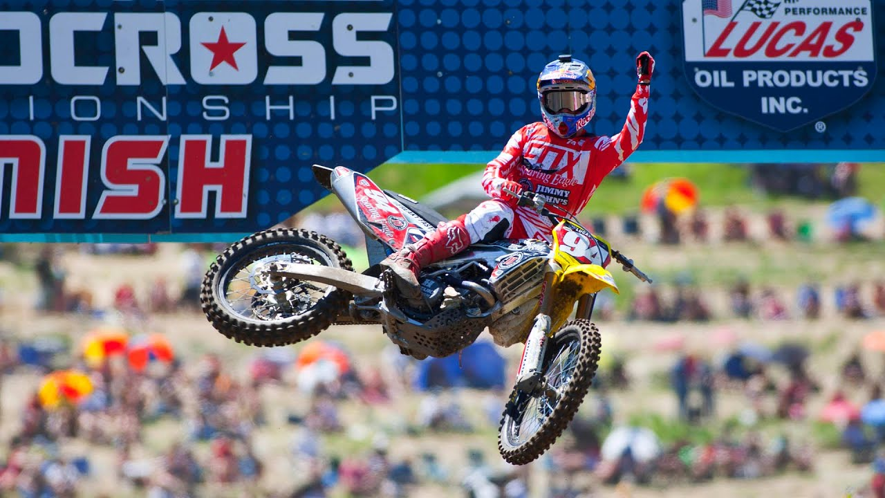 ken roczen wins the 2016 ama 450 pro motocross championship youtube. Black Bedroom Furniture Sets. Home Design Ideas