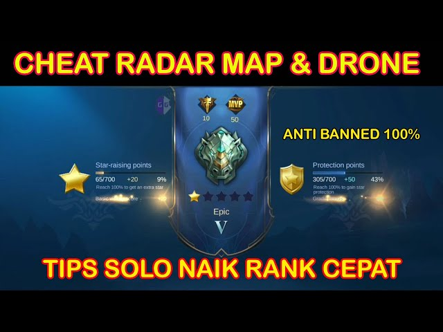 Cheat Mobile Legends Radar Map, Drone View & Tips Solo Ranked (MARET 2021)