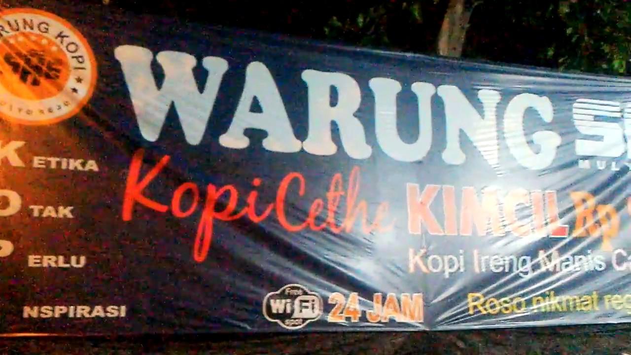 Warung Kopi Warkop Sae Mulyo Rejo Desa Gemurung Gedangan Sidoarjo
