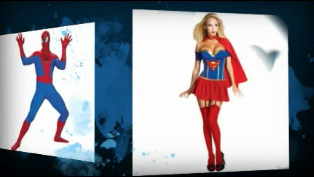 1135967c045ed Superheroes Costumes For Halloween - Batman, Spiderman, Superman And More