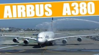 Airbus A380 espectacular aterrizaje en San Francisco (El Mejor Video)