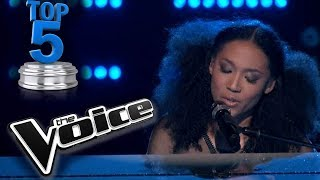 THE VOICE USA!  TOP 5 FEMALE LIVE PERFORMANCES!!!