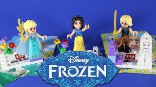 ХОЛОДНОЕ СЕРДЦЕ Собираем Конструктор Распаковка Игрушки Frozen(Сегодня собираем игрушку конструктор холодное сердце и принцесса. Today collect toy designer cold heart and princess. Подписатьс..., 2016-03-04T09:00:30.000Z)