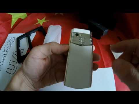 Satrend M17 - мини смартфон на Андроид в стиле от Vertu