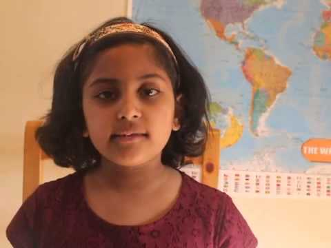 6yr old saying all countries and capitals of the world!!