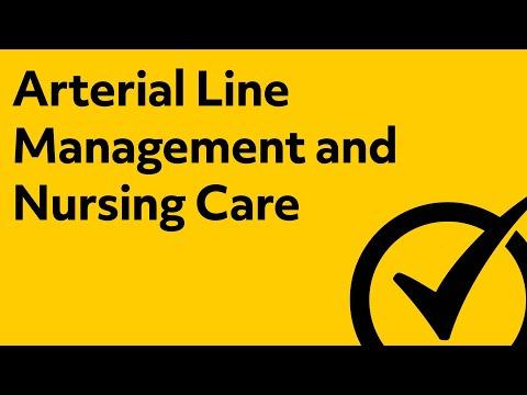 Arterial Line Management & Nursing Care   NCLEX Review