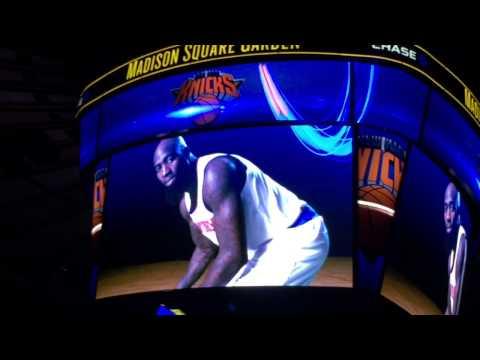New York Knicks 2014 - 2015 Intro (vs. Brooklyn Nets)